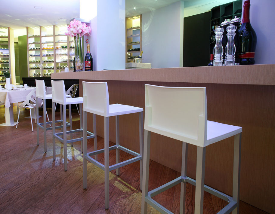 Tabouret de bar contemporain - LIBERTY H75 by Eurolinea - Gaber