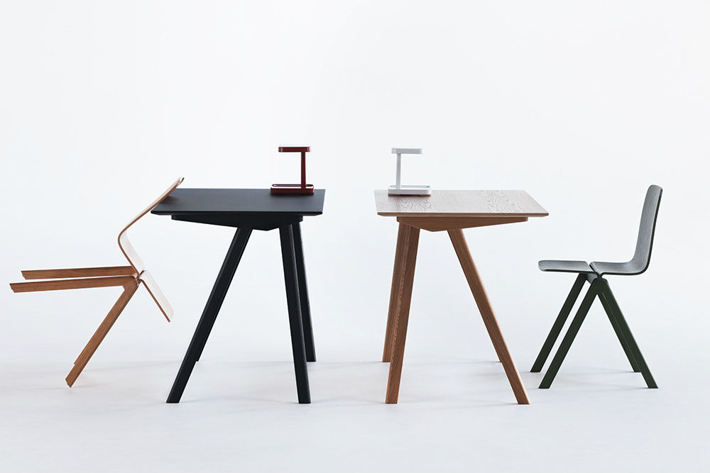 Bureau en bois design magnifique bureau bois massif design en