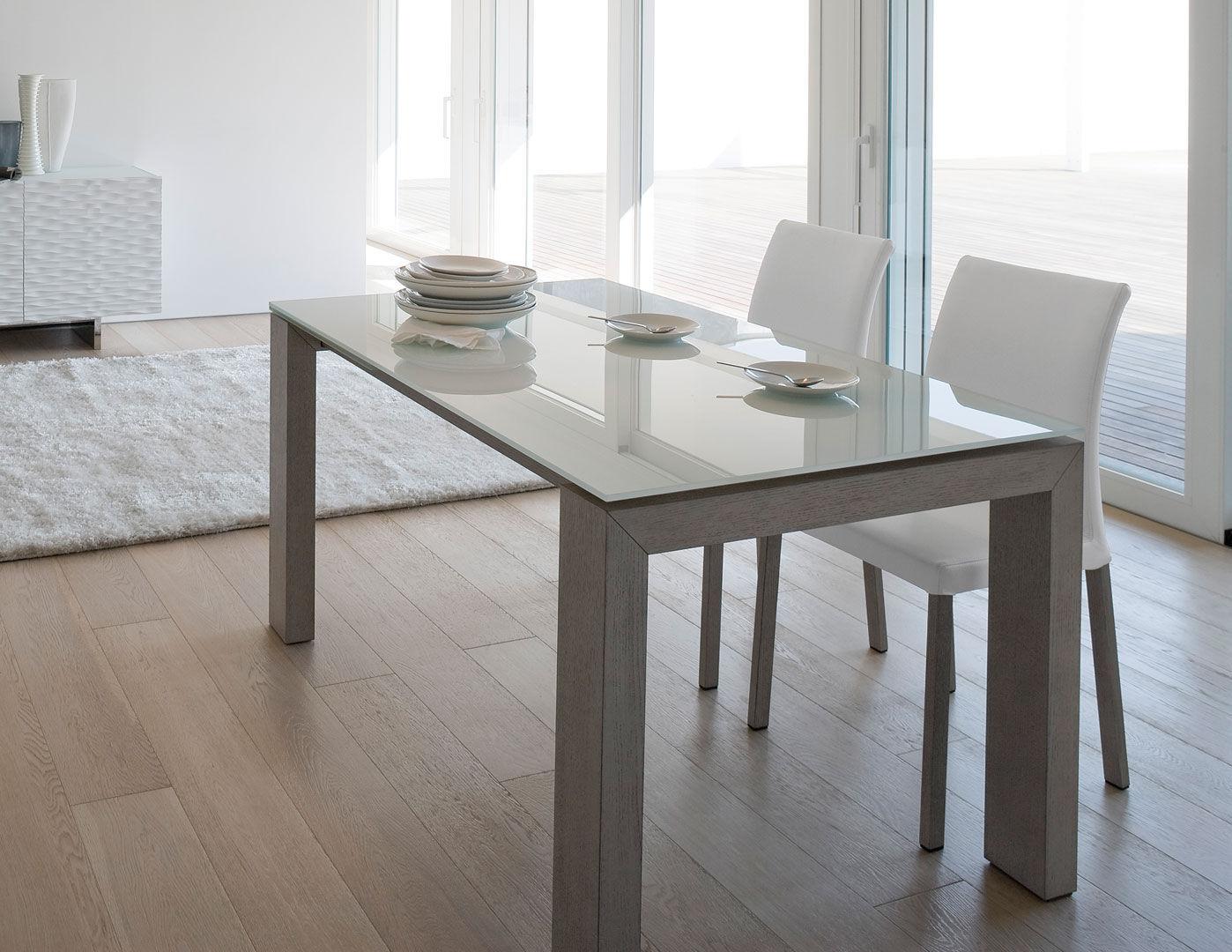 Table A Manger Verre Et Bois