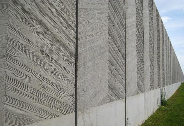 Gut bekannt Matrice de coffrage pour façade / aspect bois / pour béton imprimé  GX22
