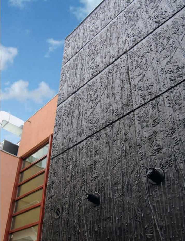 Super Matrice de coffrage pour façade / aspect bois / pour béton imprimé  UW86