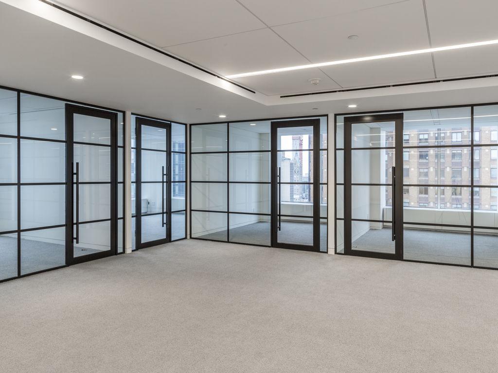 cloison amovible / vitrée / de bureau / transparente - carrÉ - maars