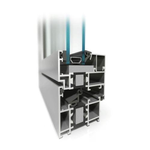 Profilé Pour Fenêtre En Aluminium à Isolation Thermique Mb 60hi