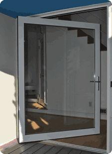 porte d 39 entr e battante en verre pour tablissement public si3000p solar innovations. Black Bedroom Furniture Sets. Home Design Ideas