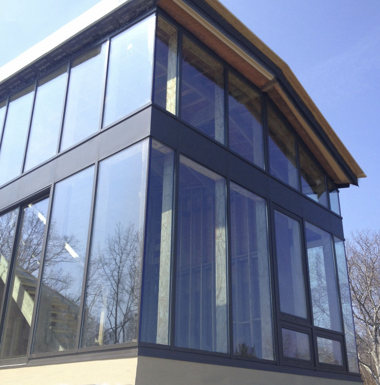 Mur-rideau ossature autoportante / en aluminium et en verre - SI5000 ...
