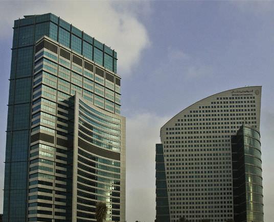 Mur-rideau en panneaux / en aluminium et en verre - DUBAI FESTIVAL ...