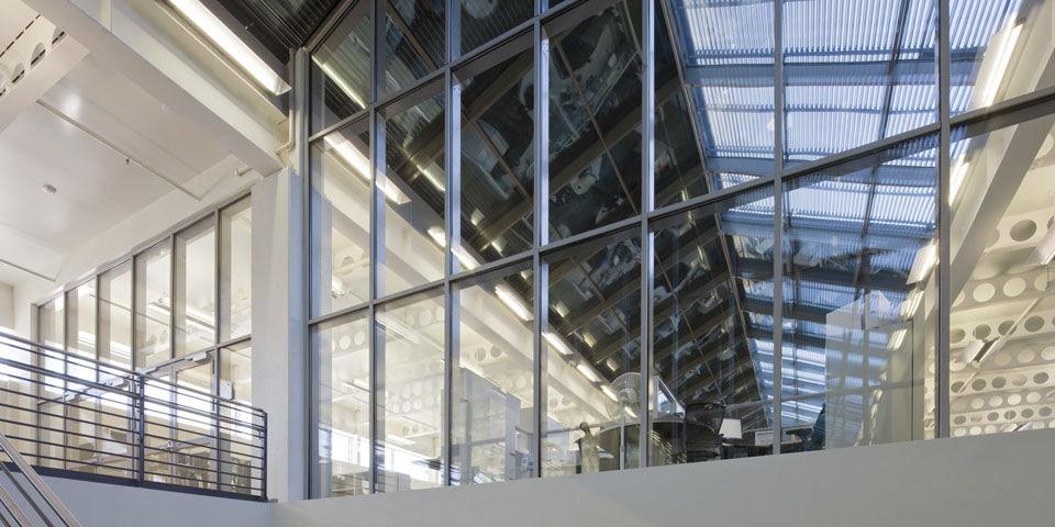 Système de fixation en acier / pour mur-rideau / pour intérieur ...