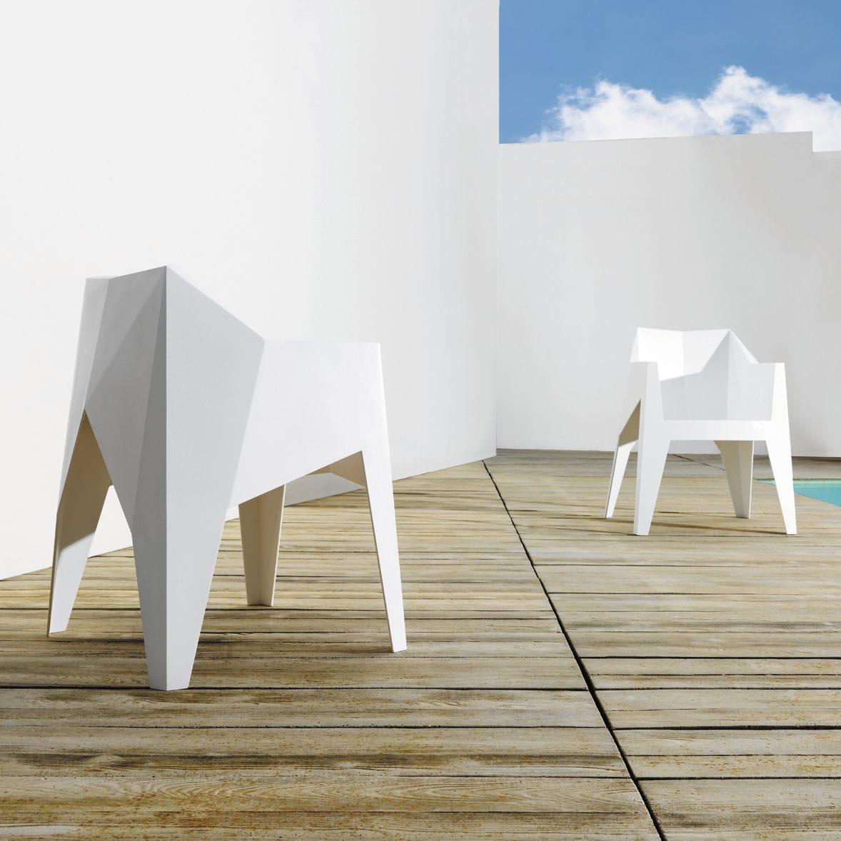 Chaise Design Original Empilable En Polycarbonate Polypropylne