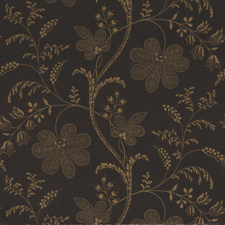 Papier Peint Classique / à Motif Floral ...