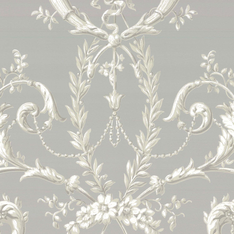 ... Papier Peint Classique / à Motif Floral