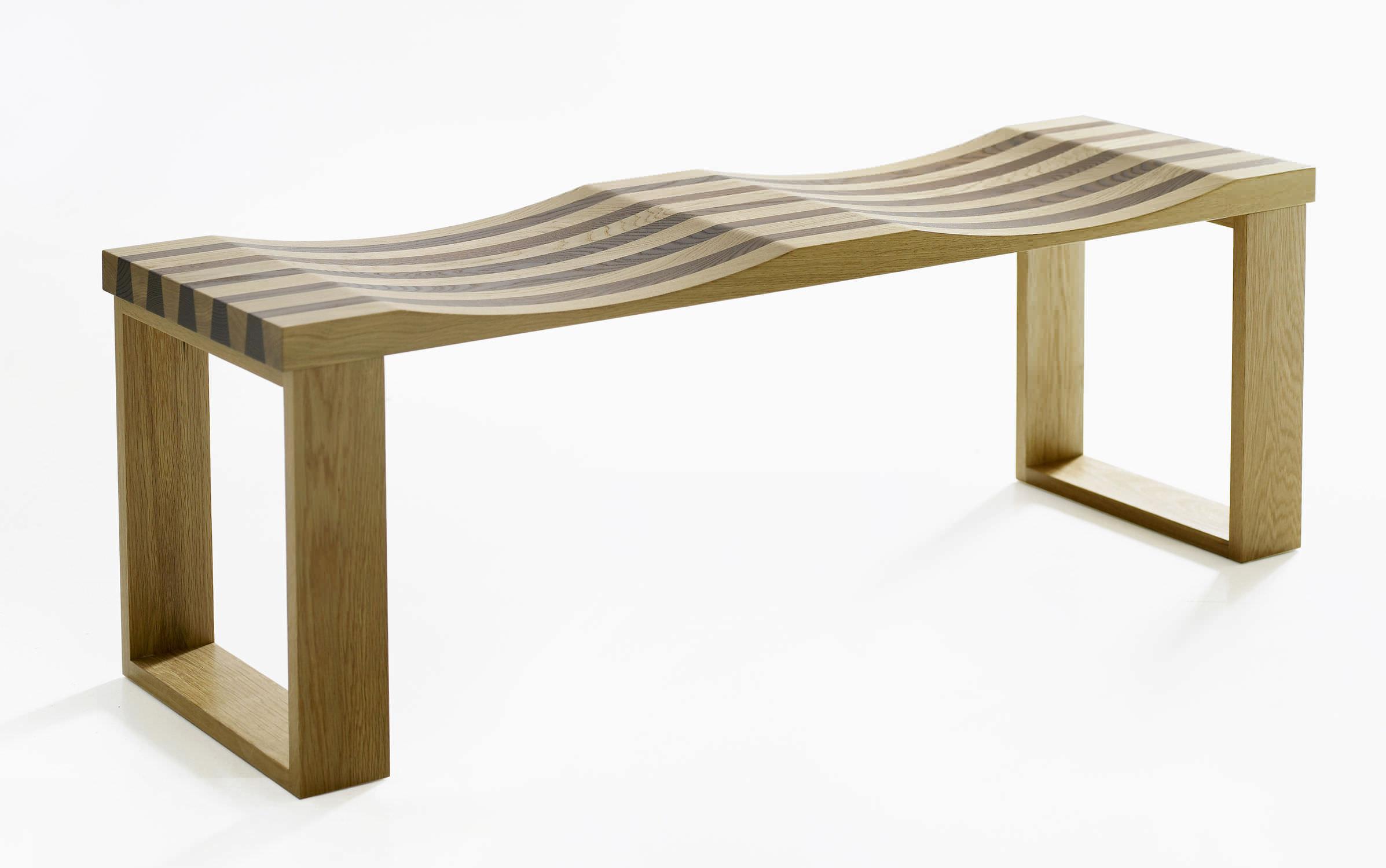 Banc contemporain / en bois / modulaire - SIDEBYSIDE by Filip ...