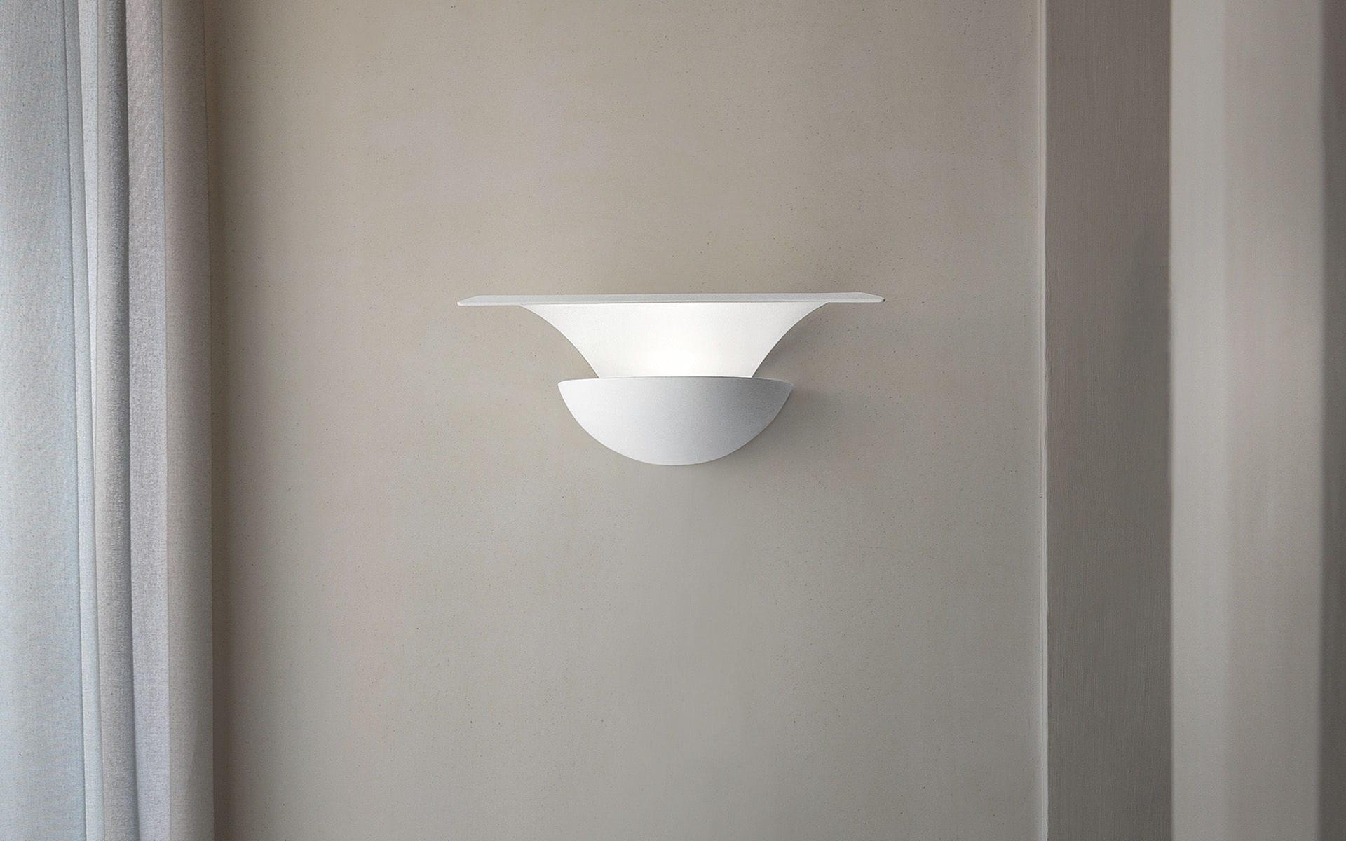 Applique murale design original / en aluminium / à LED / dimmable ...