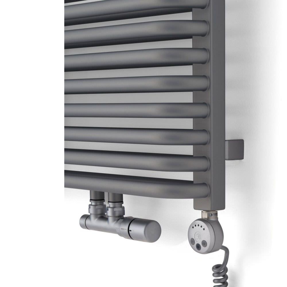 Sèche serviettes à eau chaude / électrique / en métal ...