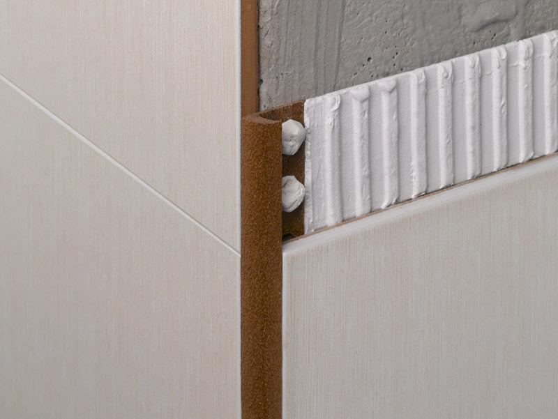 Profilé De Finition En PVC Pour Carrelage Pour Angle Extérieur - Carrelage d'angle