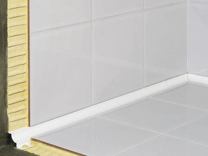 Profilé De Finition En PVC Pour Carrelage Pour Angle Intérieur - Carrelage d'angle