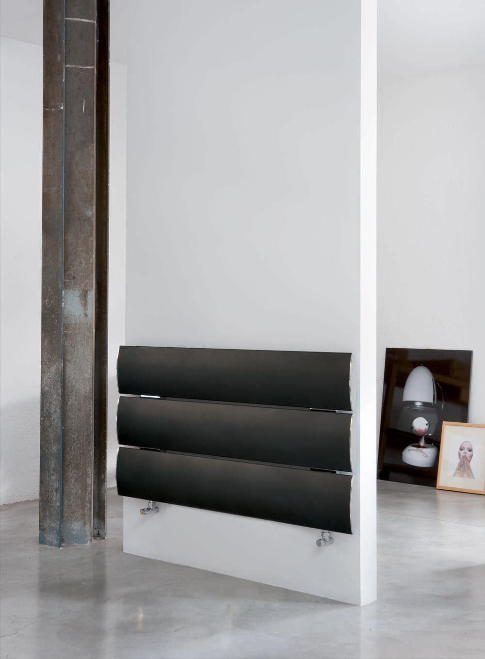 Radiateur Eau Chaude En Aluminium Contemporain Horizontal