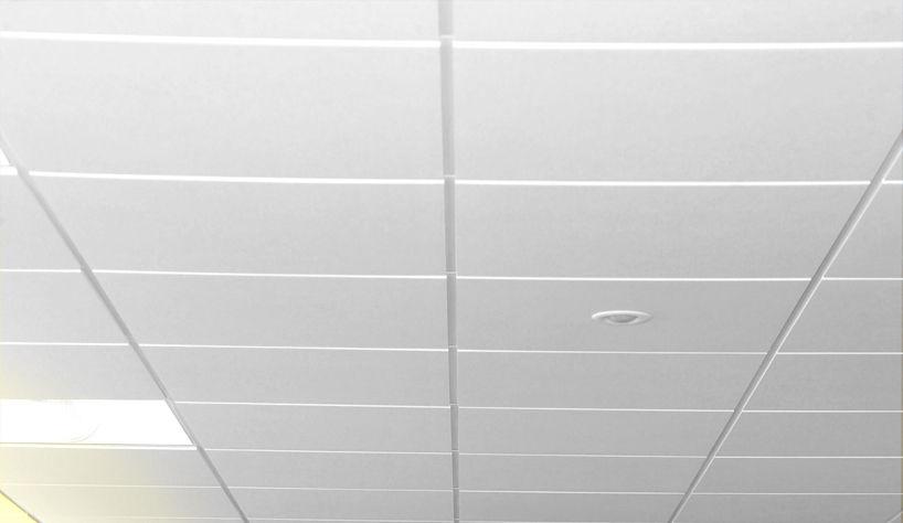 Faux Plafond En Fibre De Verre En Dalles Acoustique Pour Salle