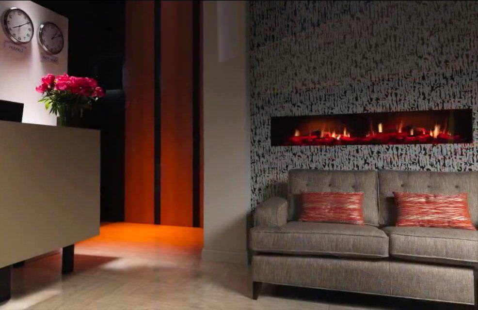 Insert de cheminée électrique - OPTI-FIRE V 2 - Kamin-Design GmbH ...