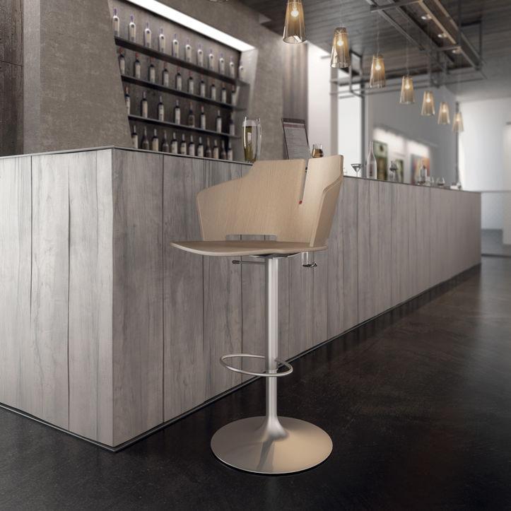 Luxy Prima Repose Bar Central Chaise Pieds Contemporaine De Partners Avec Piètement Favarettoamp; Tapissée By lK1FcTJ