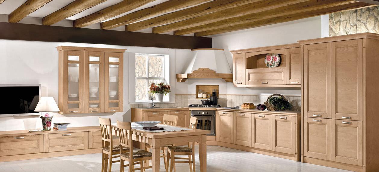 Cuisine classique / en bois massif / en bois - GIOIOSA - Arredo3 ...