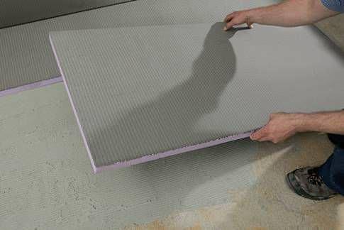 isolant thermique / en polystyrène extrudé / pour sol / pour mur ... - Isolation Sol Salle De Bain