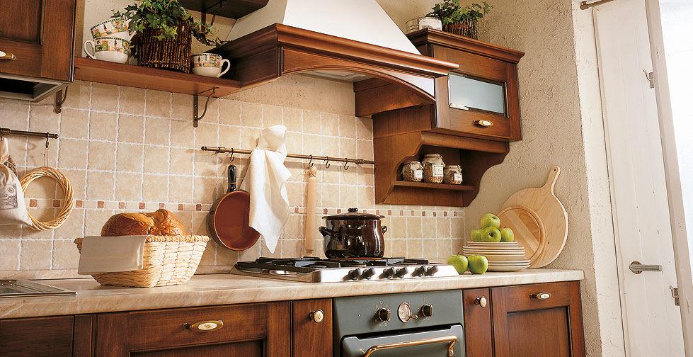 Cuisine classique / en bois massif / en bois - BORGO ANTICO 01 ...