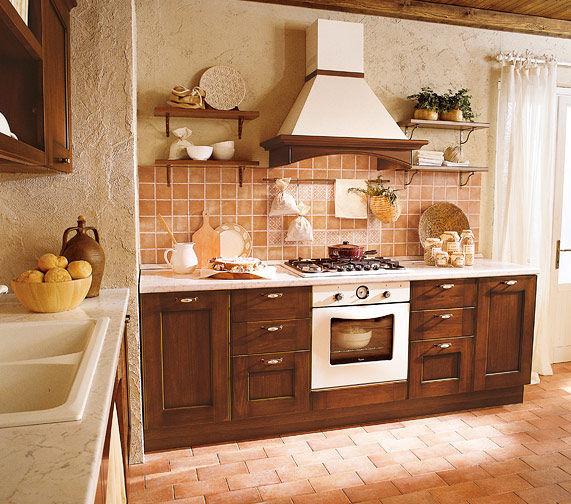 Cuisine classique / en bois massif / en bois - BORGO ANTICO 02 ...