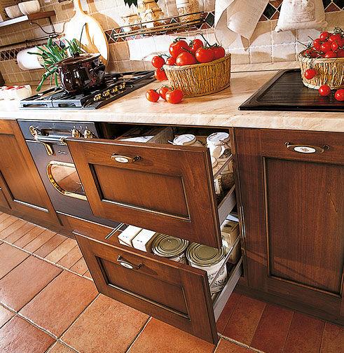 Cuisine classique / en bois massif / en bois - BORGO ANTICO 03 ...