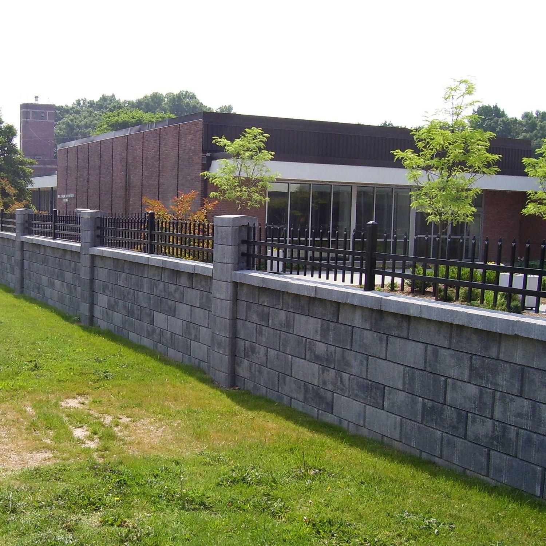 Clôture de jardin / à barreaux / en béton / antibruit - AB - Nitterhouse