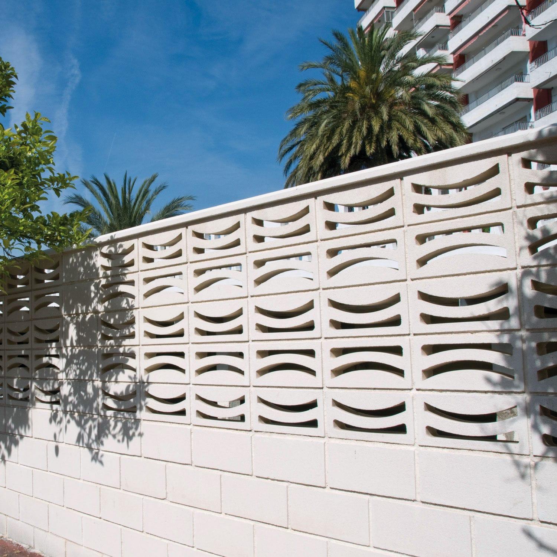 Claustra Définition se rapportant à claustra en béton préfabriqué / de jardin - luna - verniprens