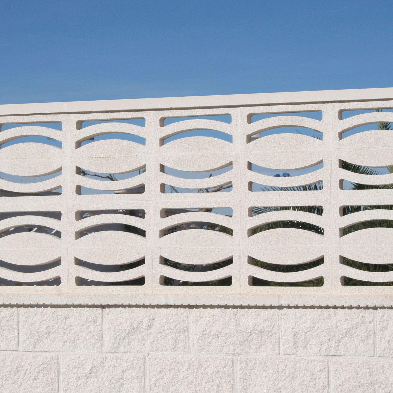 Claustra Définition dedans claustra en béton préfabriqué / de jardin - luna - verniprens