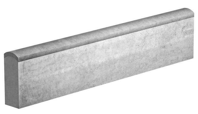 bordure de jardin / en béton / linéaire - boj820 - gls prefabricados