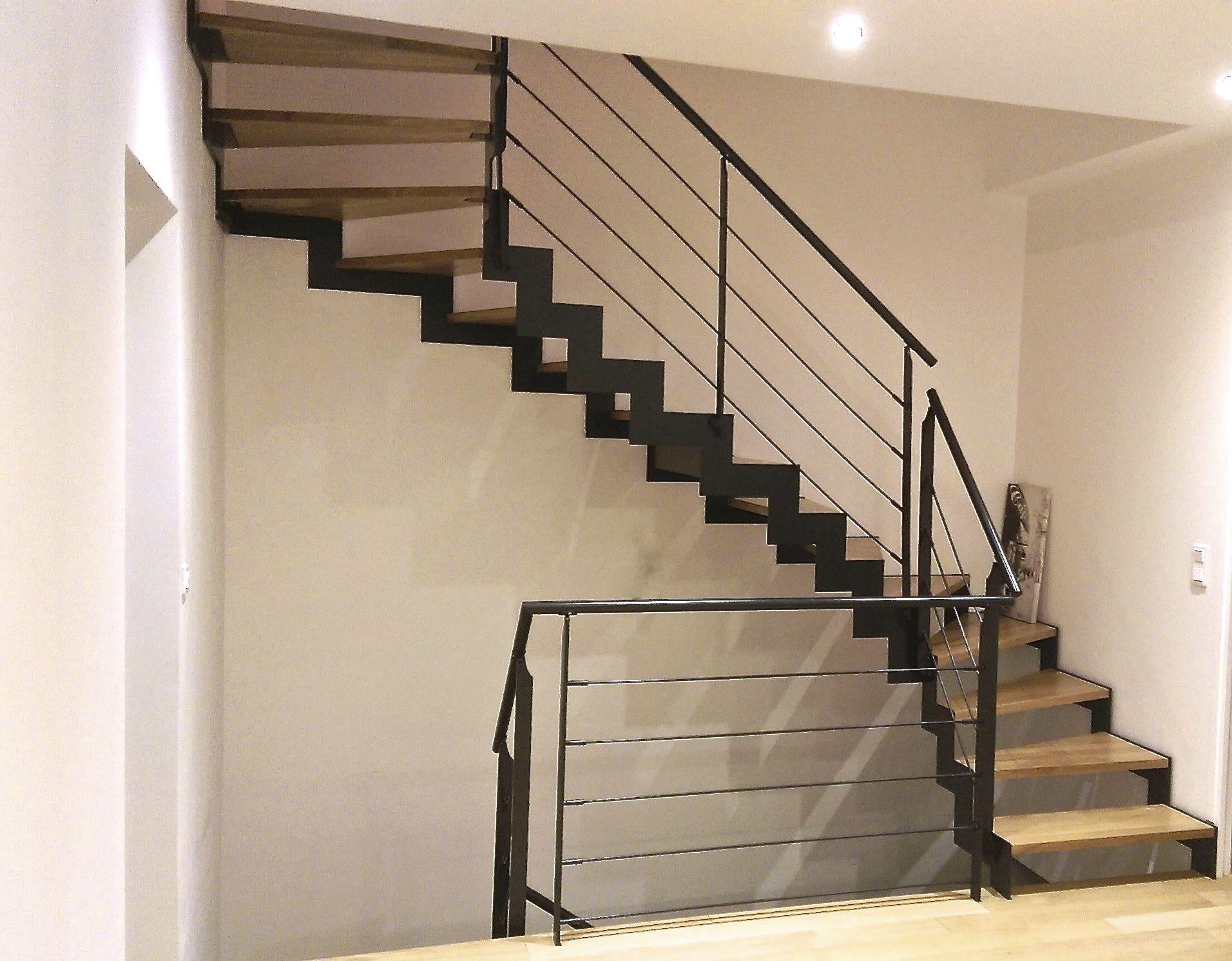 Escalier demi-tournant / marche en bois / marche en chêne ...