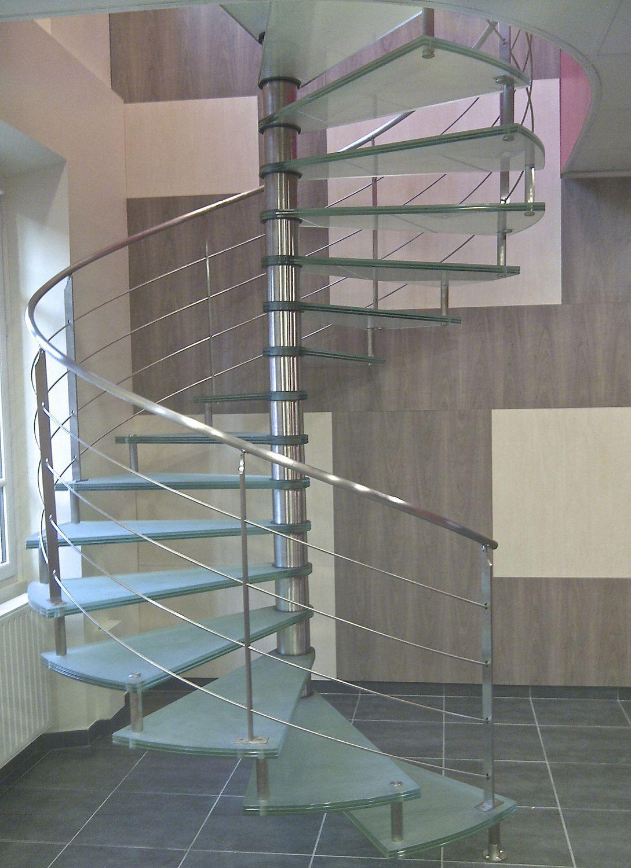 Complètement et trop extrême Escalier en colimaçon / hélicoïdal / circulaire / structure en #BG_17