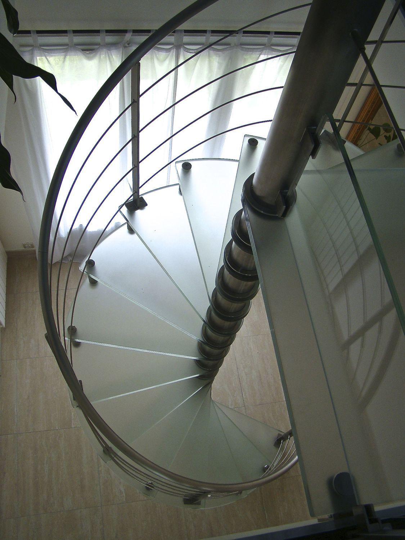 Super Escalier en colimaçon / hélicoïdal / circulaire / structure en #SX_35