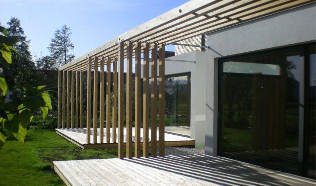 Maison préfabriquée / duplex / contemporaine / en bois massif - LOW ...