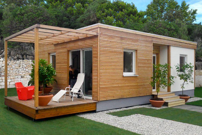 Super Maison modulaire / contemporaine / à ossature bois / à 2 étages  MW93