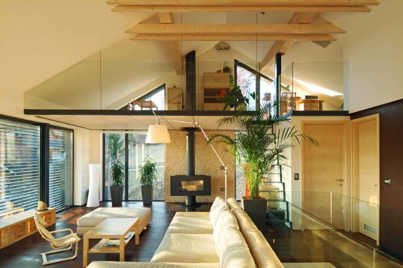 Maison préfabriquée / à ossature bois / contemporaine / à 2 étages THE SUNNY by Alenka