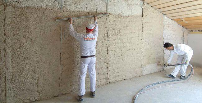 Beau Enduit Isolant / Du0027intérieur / Du0027extérieur / Pour Mur ... Inspirations De Conception