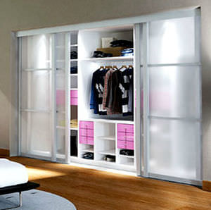 Porte Dintérieur Pour Placard Pour Dressing Coulissante TOP - Porte placard coulissante de plus double porte vitrée d intérieur