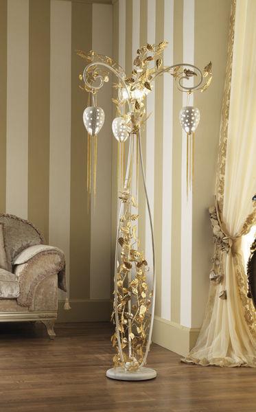 Lampe sur pied design original en fer halog¨ne FANTASIA