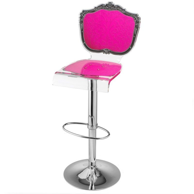 En Nouveau Acrila Chaise Baroque Acrylique Bar Design De wOv80mNn