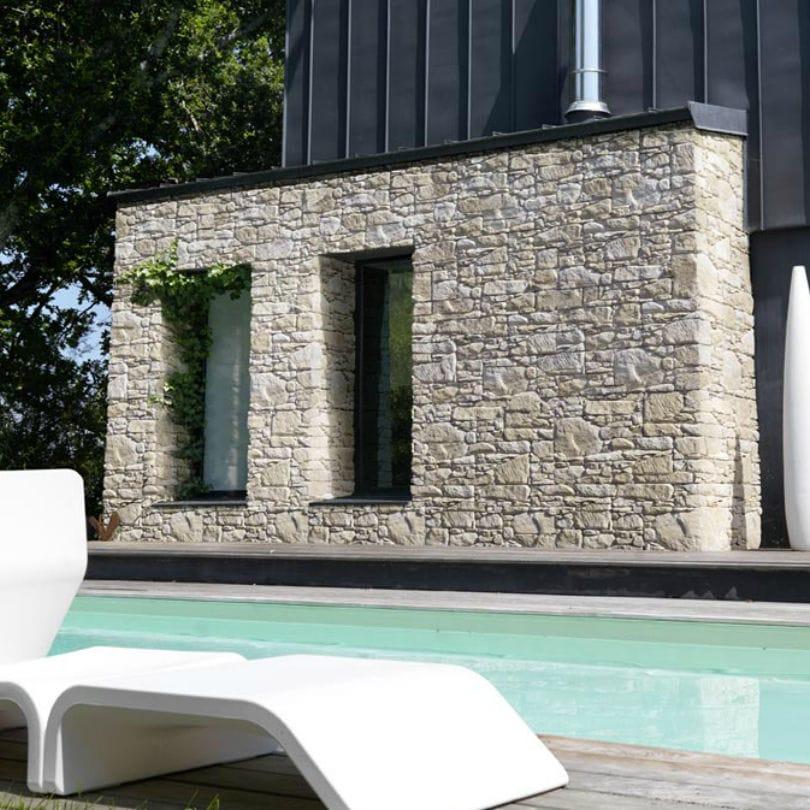 Extrêmement Plaquette de parement de pierre / extérieure - GRAND CANYON - ORSOL OU23