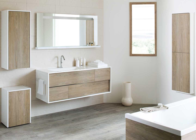 salle de bain contemporaine en bois my lodge - Salle De Bain Contemporaine Bois