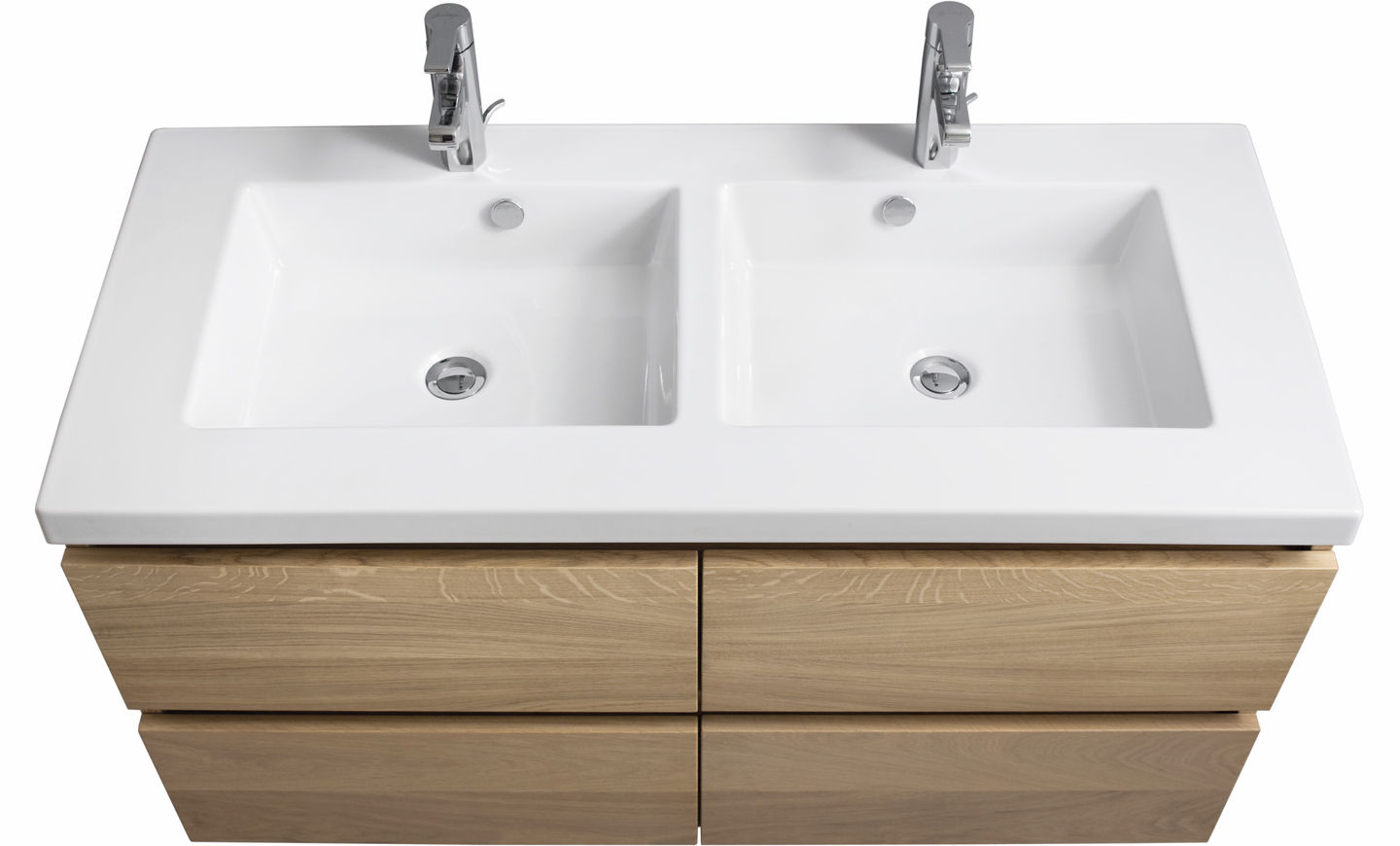 meuble vasque double