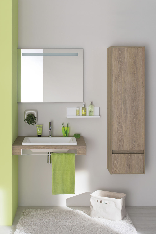 Meuble colonne de salle de bain / contemporain - MIXCITY - SANIJURA