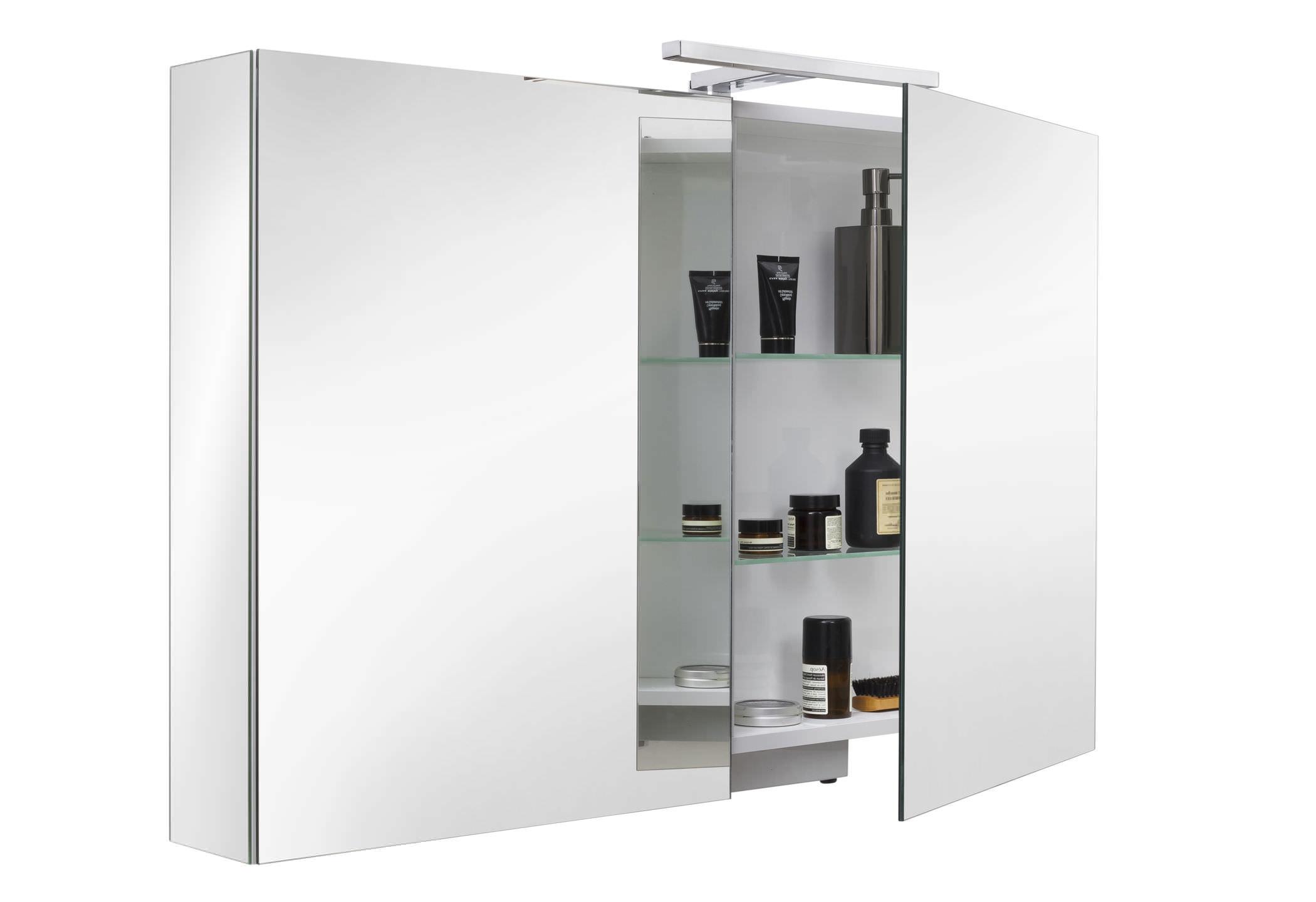armoire toilette avec miroir design