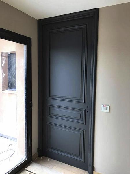 Porte Haussmannienne porte d'intérieur / battante / coulissante / en chêne - haussmann