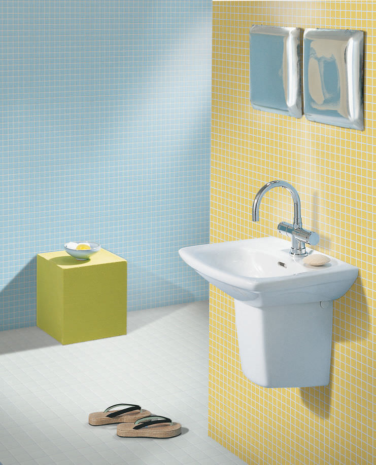 Mosaïque d\'intérieur / de salle de bain / au sol / en céramique ...