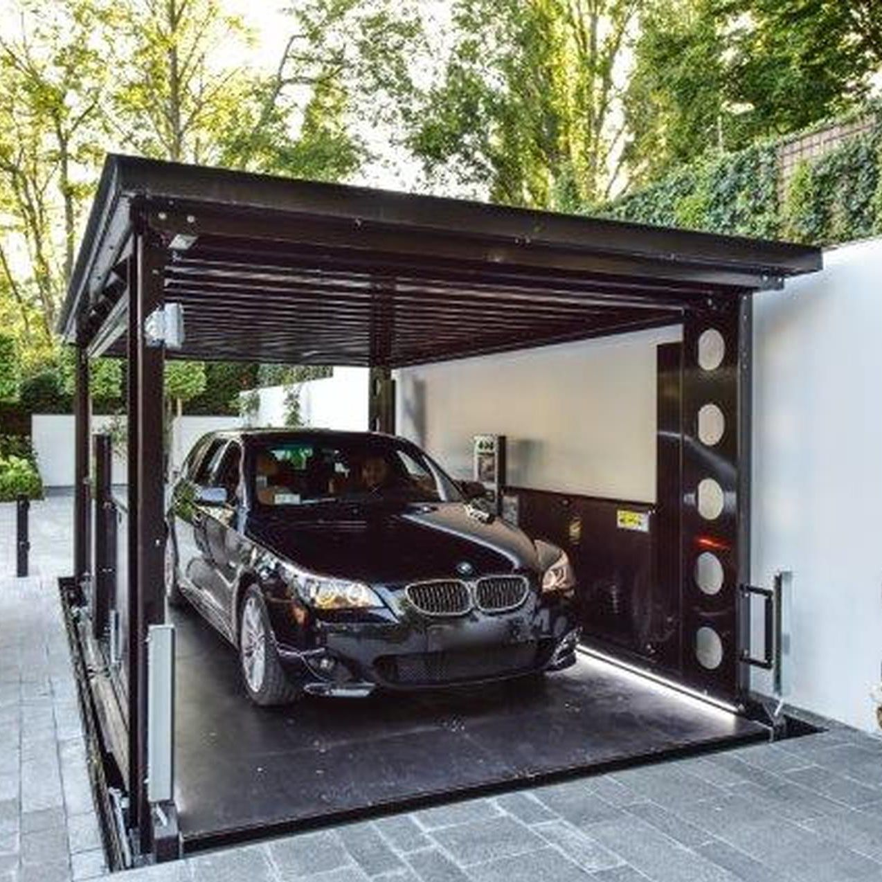 Assez Ascenseur hydraulique / pour voiture - IP1-CM MOB - IdealPark - Vidéos DH69
